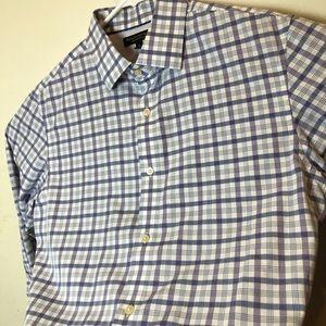 Banana Republic Shirts - Banana Republic Slim Fit Non Iron Dress Shirt Med